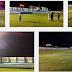 Iluminação do estádio Higino Pires Ferreira passa pelo primeiro teste e estará totalmente instalada em breve