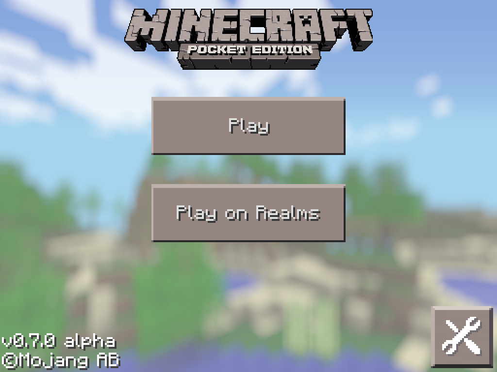 minecraft pocket edition 0.7.0