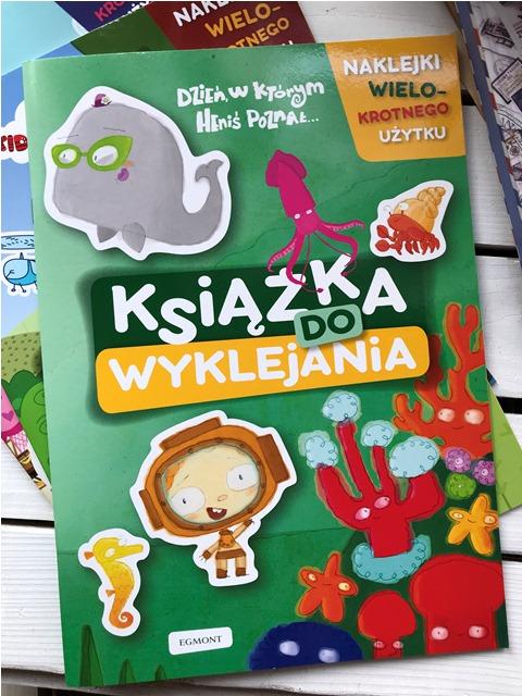 Książka do wyklejania - Dzień, w którym Heniś poznał // Kot-o-ciaki // My Little Pony
