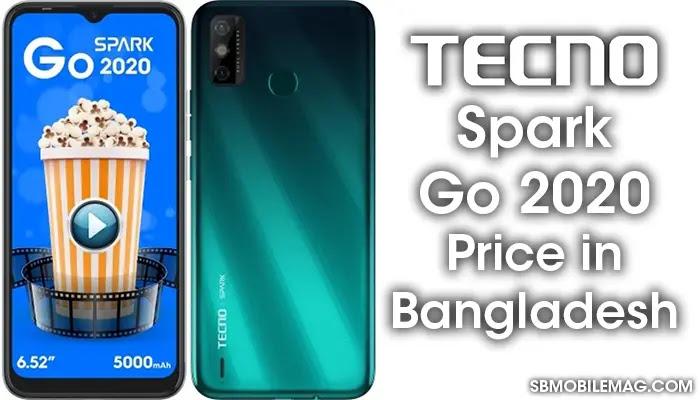 Tecno Spark Go 2020, Tecno Spark Go 2020 Price, Tecno Spark Go 2020 Price in Bangladesh