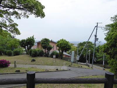 枚岡梅林 現在の様子(2017年)