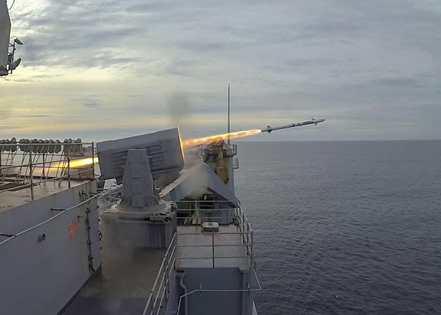Hải Quân Hoa Kỳ Thử Nghiệm Thành Công Hệ Thống Phòng Thủ Chiến Hạm RAM