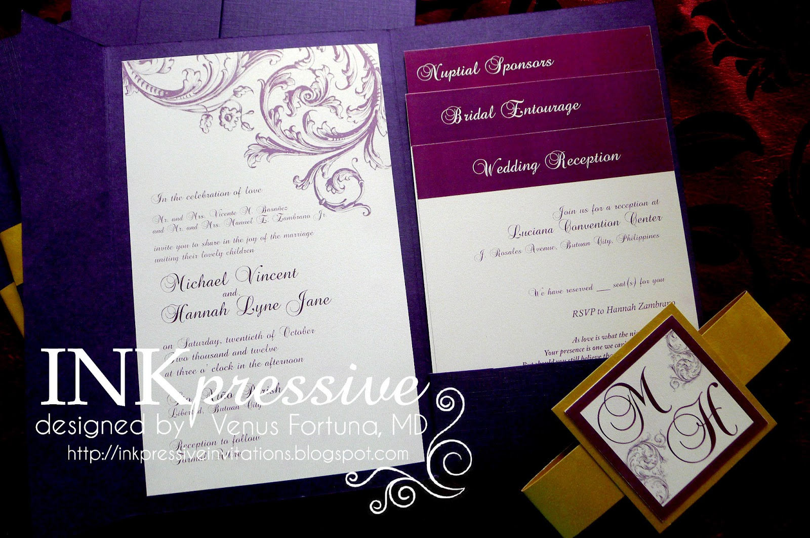 Inserts For Wedding Invitations: Inkpressive Invitations And Crafts