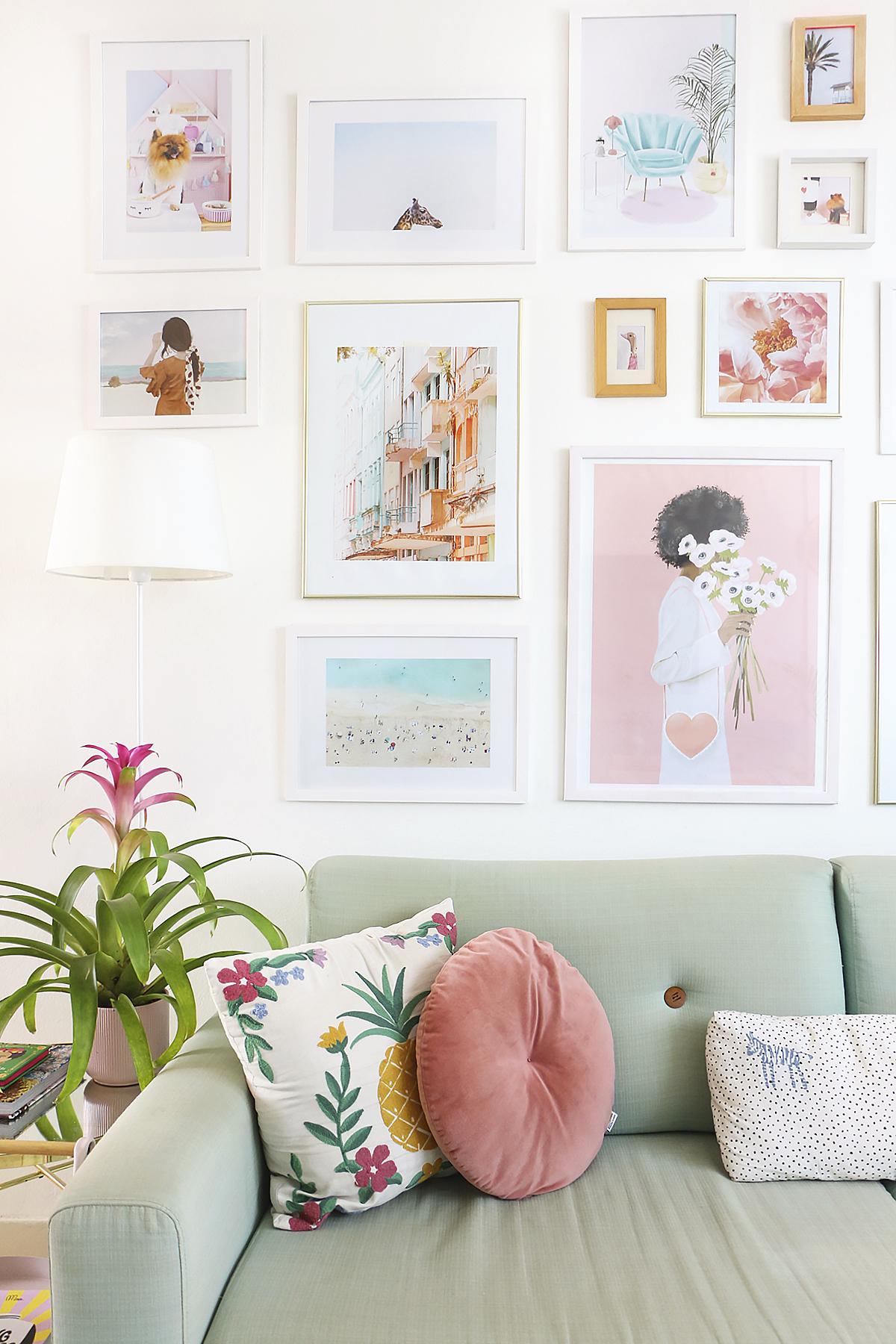 decoração de sala pequena com mesa de jantar e sofá - quarentena reforma em apartamento
