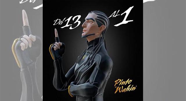 """Pinto Wahin lanza """"Del 13 al 1"""" su álbum debut"""