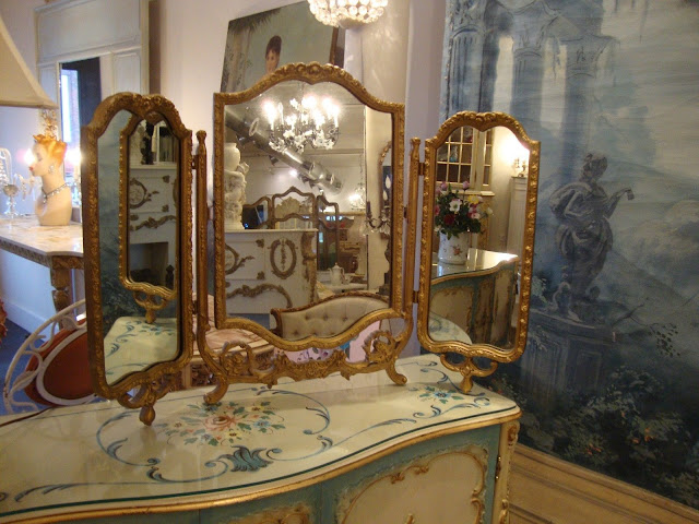 Antique & Ornate Mirror