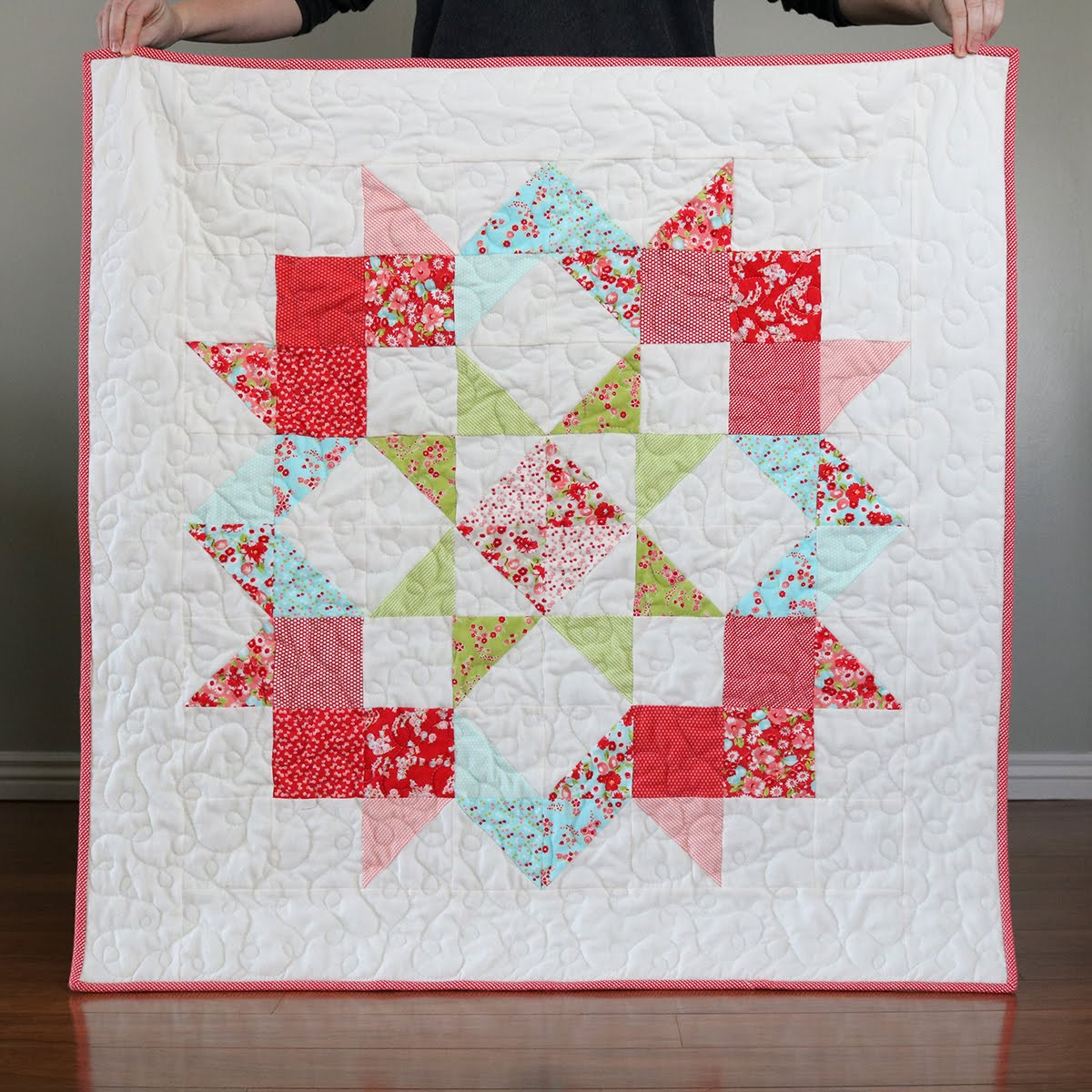Baby Quilt Patterns.A Bright Corner 15 Favorite Free Baby Quilt Patterns