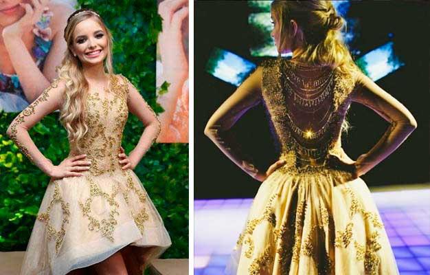 Giovanna Chaves vestido debutante