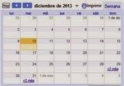 Calendario de Carreras Populares