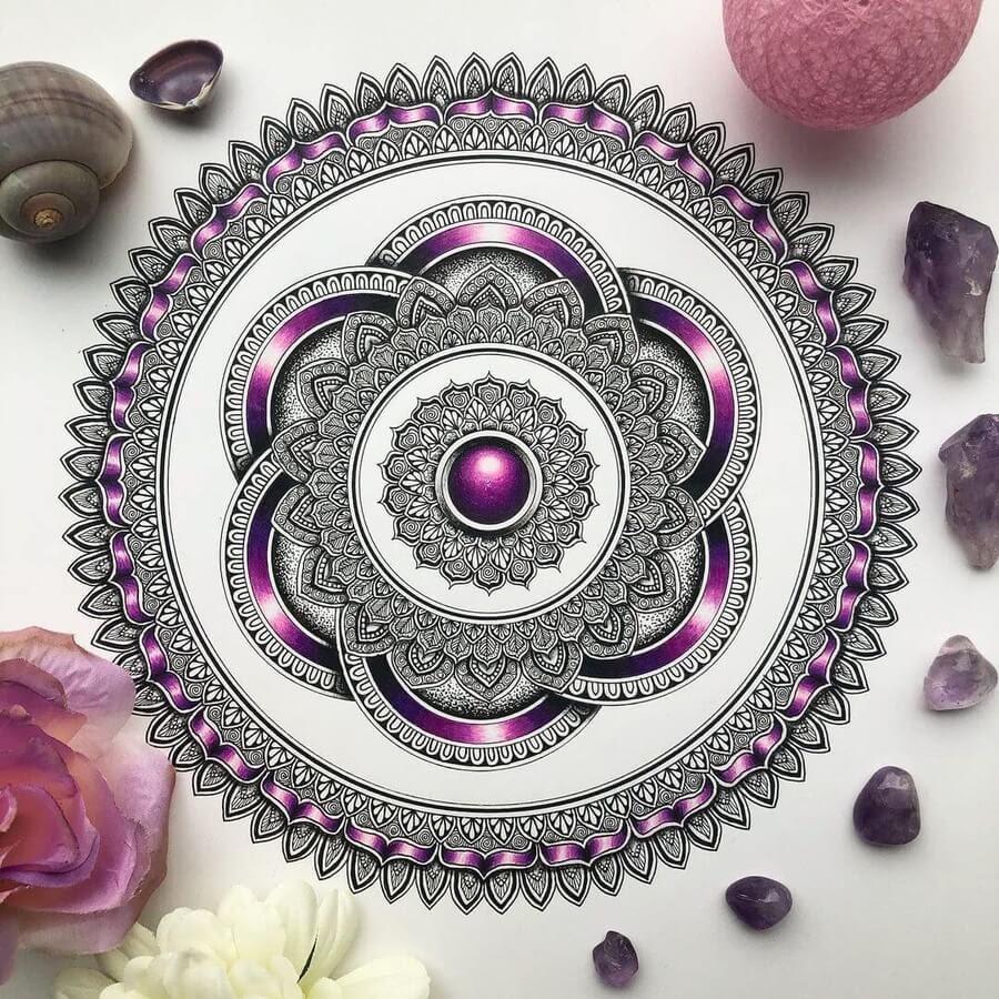 02-Mandala-and-purple-ribbons-Merith-www-designstack-co