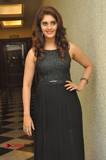 Actress Surabhi Stills in Black Long Dress at turodu Audio Launch  0022.JPG