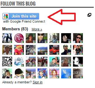 Cara Membuat Widget Followers Blog Di Blogger