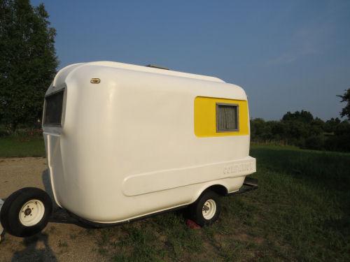 painted fiberglass trailer
