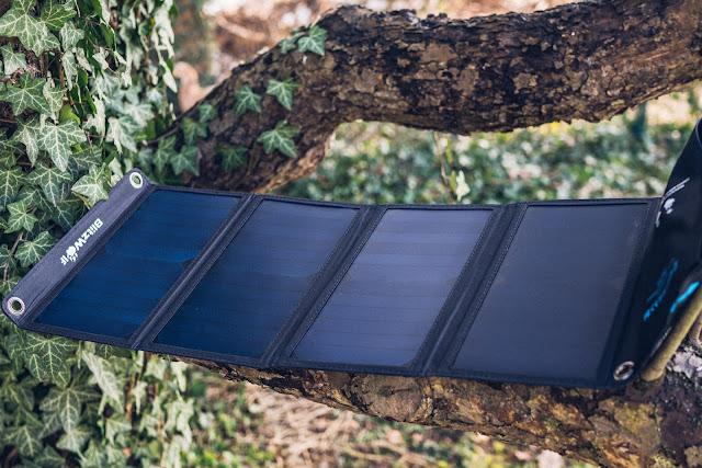 Blitzwolf BW-L3 28W 3.8A Outdoor Solarmodul  Solarladegerät  Mobile-Energie 06