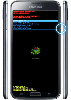 Cara Reset Ulang Samsung Galaxy S5