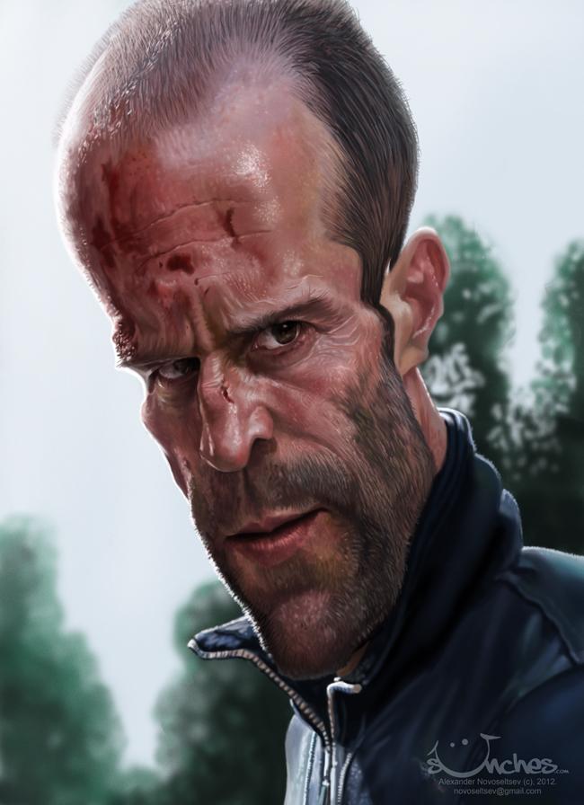 """""""Jason Statham"""" por Alexander Novoseltev"""