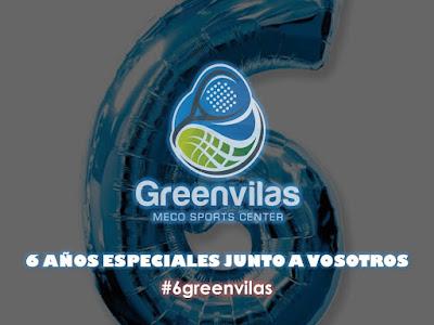 6º Aniversario Greenvilas Meco #6greenvilas con un Sorteo por todo lo alto.