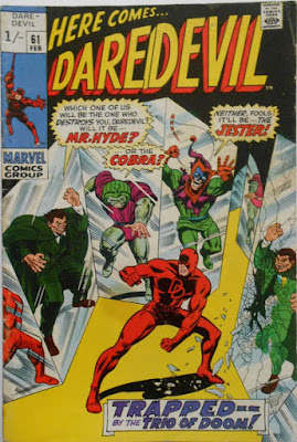 Daredevil #61, Mr Hyde, the Cobra and the Jester