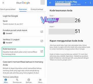 Cara Mengatasi Lupa Password Gmail Di Android Melalui Verifikasi Kode Keamanan 2