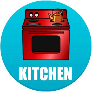 kitchen in spanish, kitchen in Spanish, the kitchen in Spanish, kitchen in Spanish language, kitchen appliances in spanish