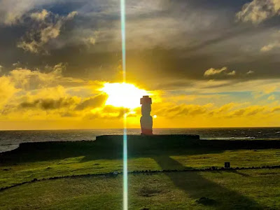 Ham Radio-DX location CE0Y/VE7ACN Easter Island