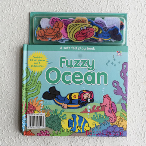 Fuzzy Ocean Felt Play Book for Toddlers in Port Harcourt, Nigeria