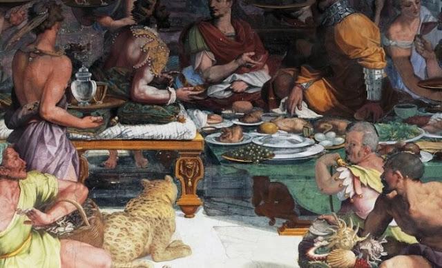Os romanos são frequentemente acusados de gula