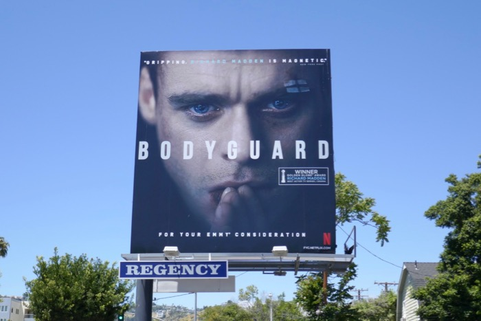 Bodyguard 2019 Emmy FYC billboard