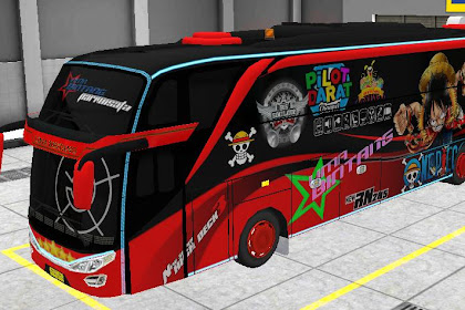 Livery BUSSID SHD Onepeace