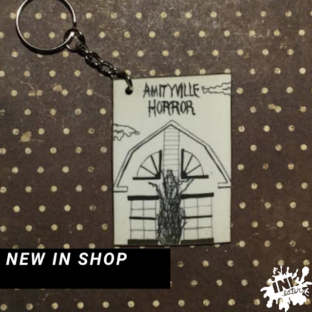 Custom Horror Movie Keychains! -Perfect Gift for tor that Horror Fan in your Life!  - Keep It Spooky for the Holidays!