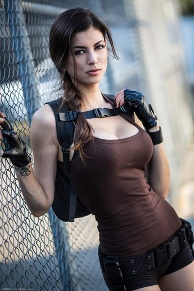 Thoralf Skolem - Leeanna Vamp as Lara Croft