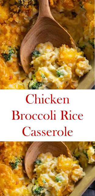 The Best Chicken Broccoli Rice Casserole