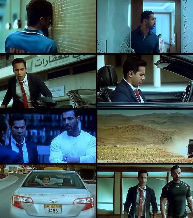 Dishoom 2016 Hindi DVDScr x264