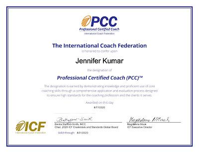 ICF PCC Certificate