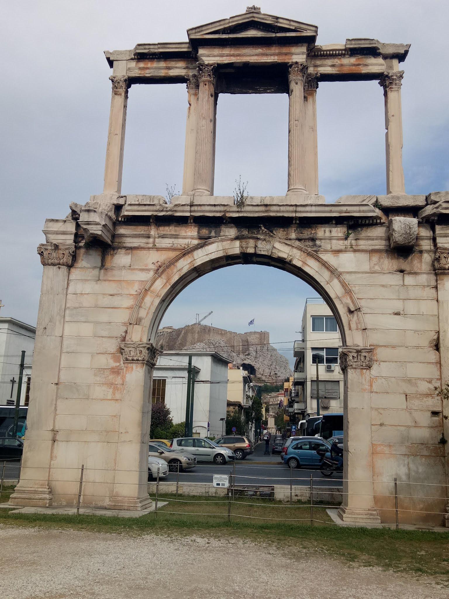 Travelog Greece, Athens: Hadrian's Arch
