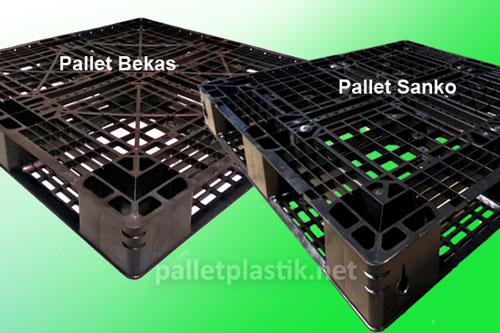 Pallet Plastik 1100x1100x120mm   Baru & Bekas