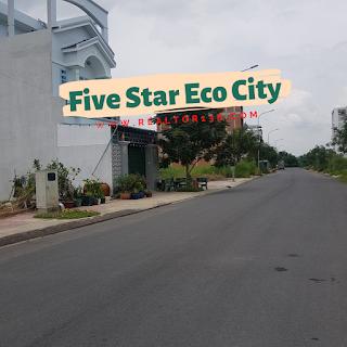 bán đất nền dự án kđt five star eco city long an