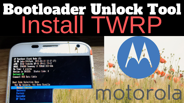 Unlocking the Bootloader MOTOROLA Android Phones Motorola