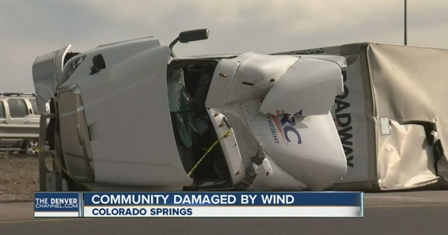The Big Wobble: High Winds Wreak Havoc in Colorado Springs