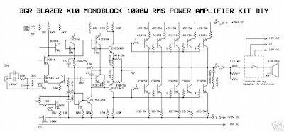 1000w Amplifier Circuit Great Installation Of Wiring Diagram