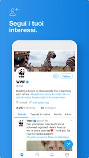Twitter, l'app ufficiale si aggiorna alla vers 7.54.6