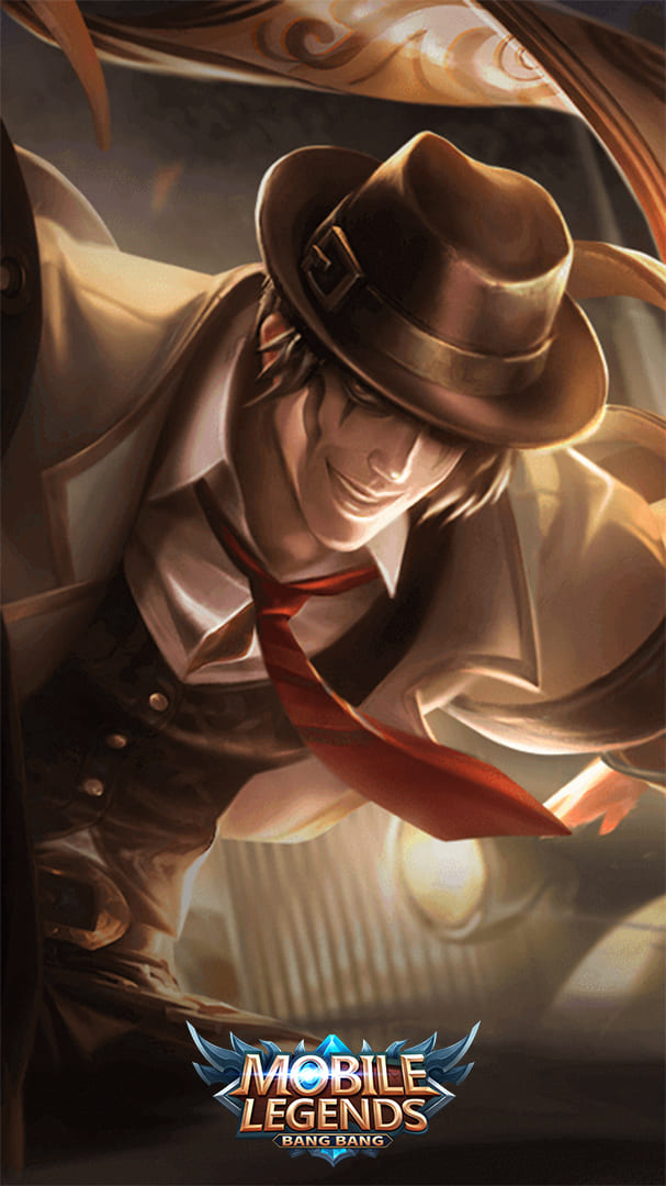 Wallpaper Khufra Gentleman Thief Skin Mobile Legends HD for Android and iOS