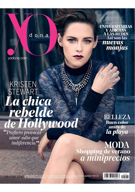 Actress, @ Kristen Stewart - YO Dona Magazine, June 2016