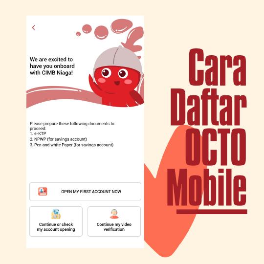 cara daftar octo mobile cimb niaga