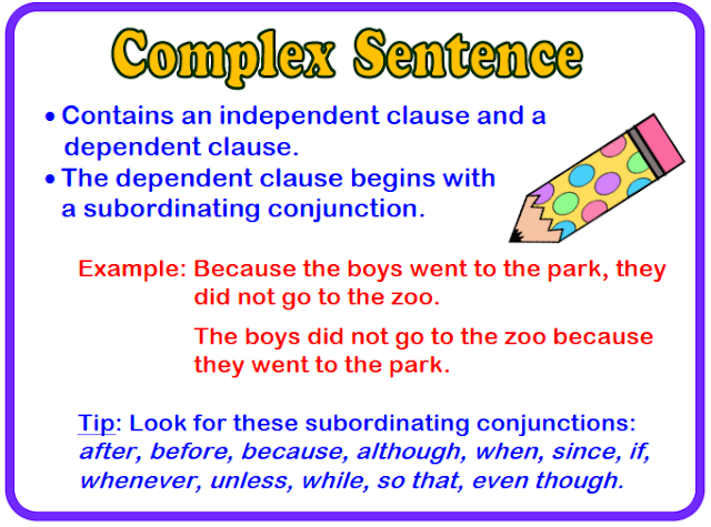 What Is Complex Sentence