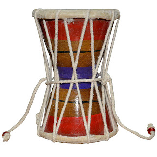 DronaCraft Damroo Hand Percussion Handmade India Musical Instrument