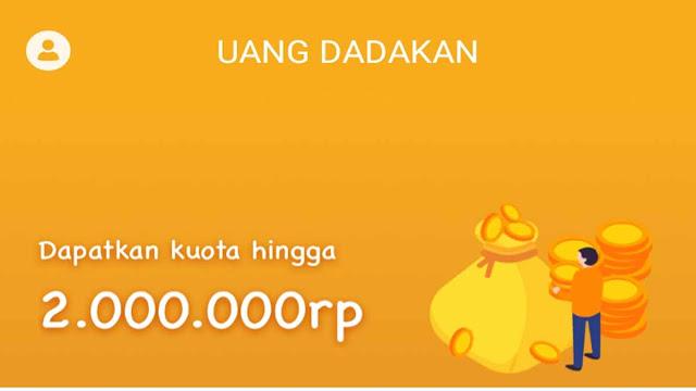 uang dadakan pinjaman online