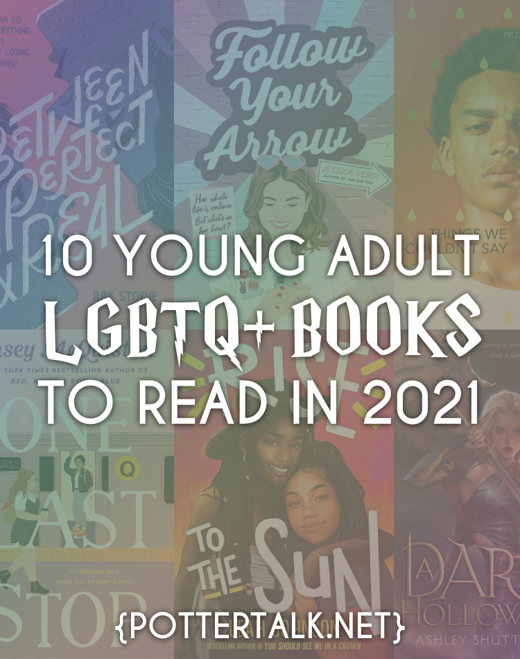 LGBTQ+ books young adult 2021