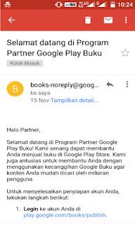 Cara Menjual Buku di Google Play Store