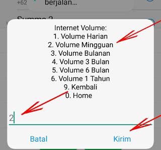 dial paket internet smartfren 4 gb seminggu 10.000